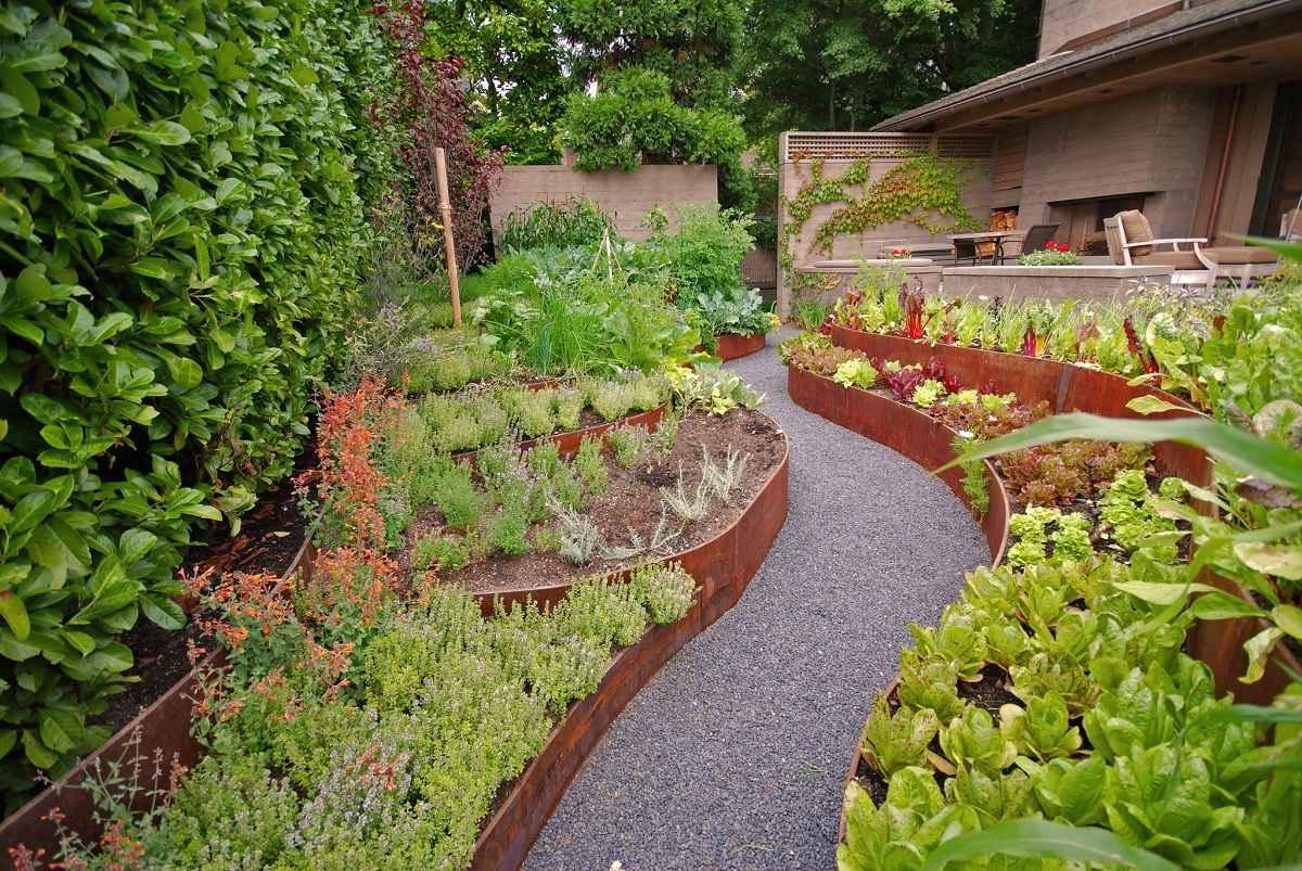 вообще-то, красивый сад и огород своими руками фото последнее время